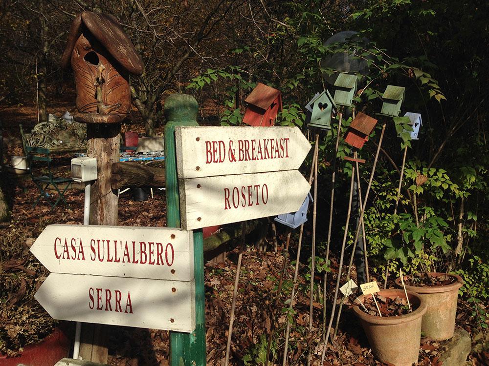 Casa sull\'albero Quercia - Il Giardino dei semplici Manta Cuneo ...